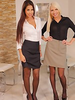 Lena Love Paula Shy Long Leggy and Beautiful