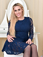 Anilos.com - Freshest mature women on the net featuring Anilos Brittany Bardot lingerie anilos